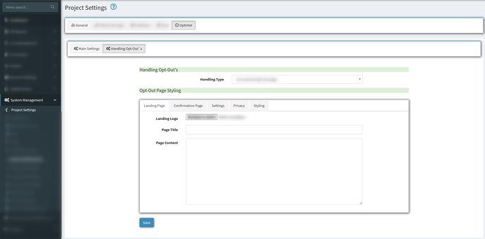 project settings opt intel tab 2
