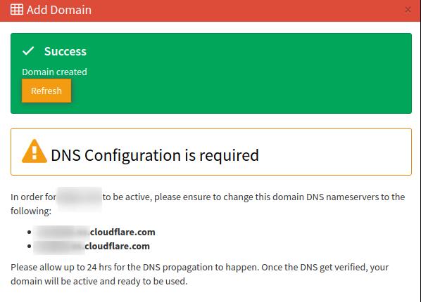 add domain step 2