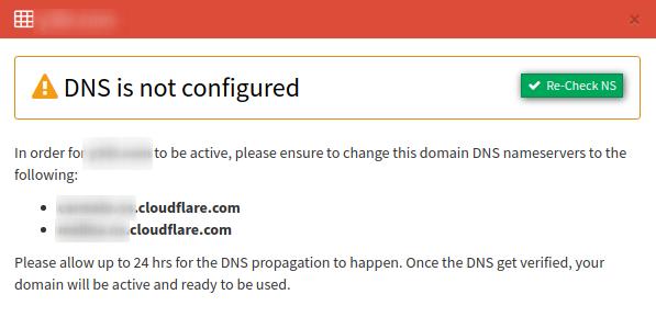 recheck 2 domains tab